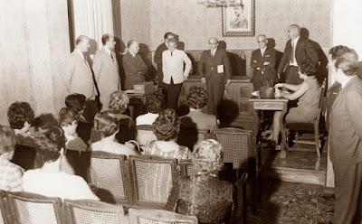 Acto de presentación del IX Campeonato de España Femenino 1965