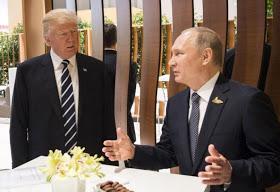 Donald Trump says talks with Vladimir Putin is successful