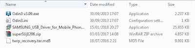 Cara Root dan Pasang TWRP Samsung J1-6