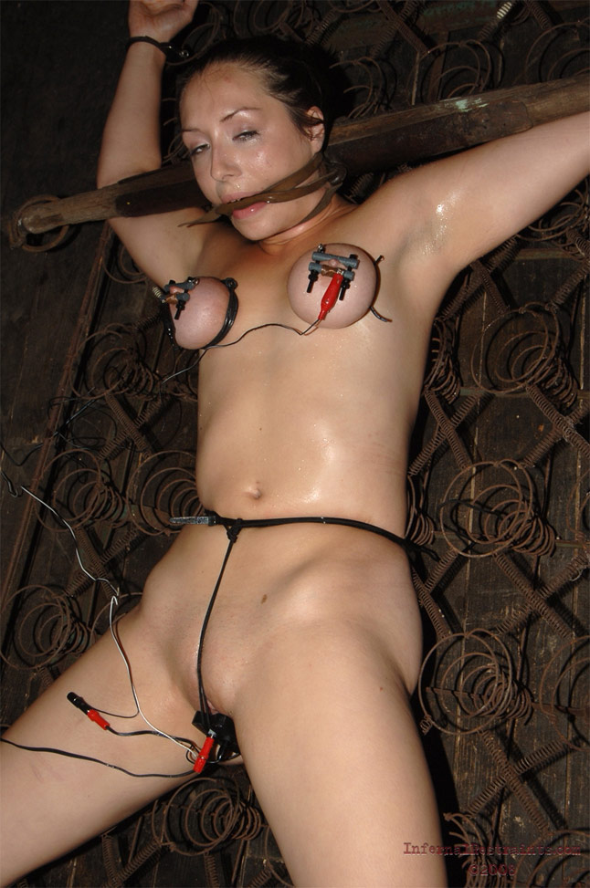 Woman a Naked bdsm on
