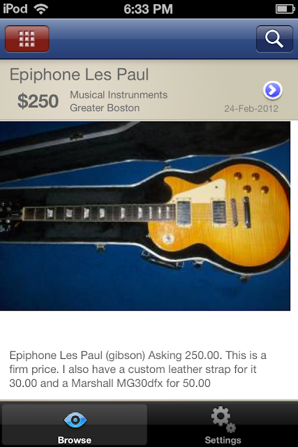 guitar classifieds
