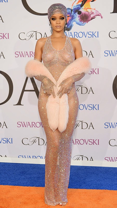 Rihanna-Adam Selman- CFDA Awards