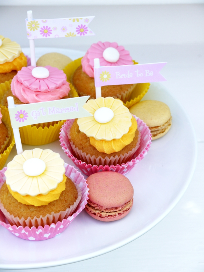Free Printables | Bridal Shower Pink & Yellow Kit - BirdsParty.com