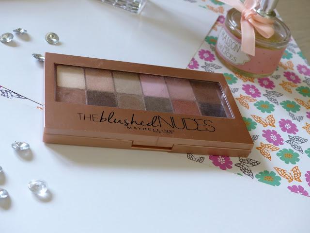 Palette the blushed Nudes Gemey Maybelline