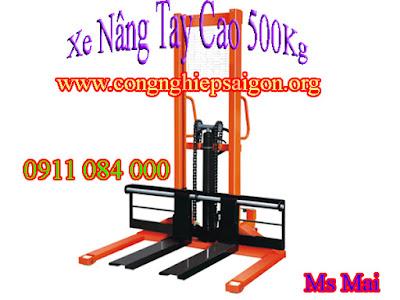 Xe nâng tay cao 1 tấn, 2 tấn, 3 tấn _ Giá cạnh tranh