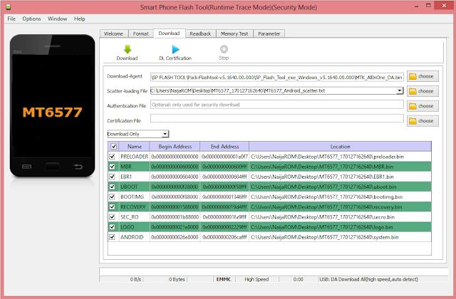 sp flash tool latest version 2017