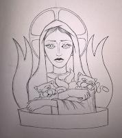 tatuaggio di Lilin da Favole fuorilegge