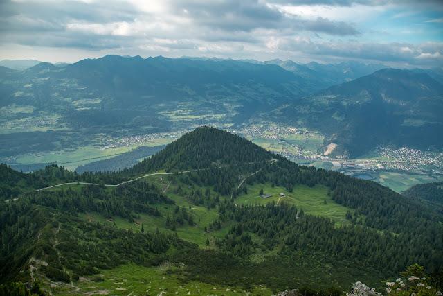 Wanderung auf die Mondspitze  Brandnertal Bürserberg  Wanderparkplatz Tschengla  Alpe Rona  Alpe Furkla 11