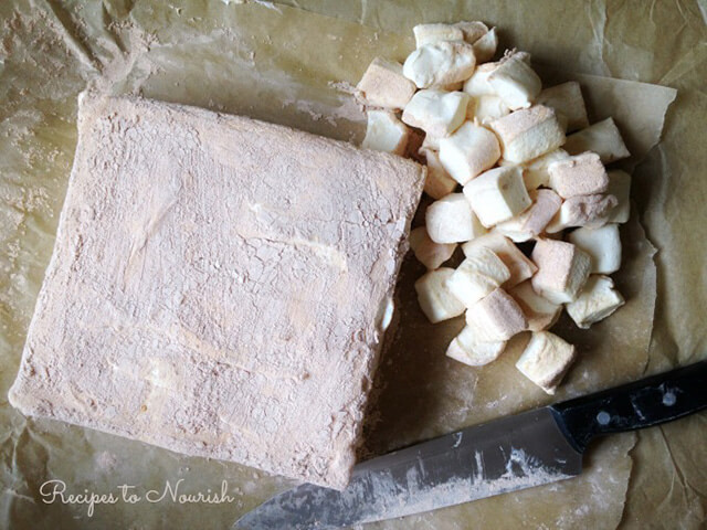 Thanksgiving Recipe: Homemade Honey Sweetened Marshmallows by Recipes To Nourish