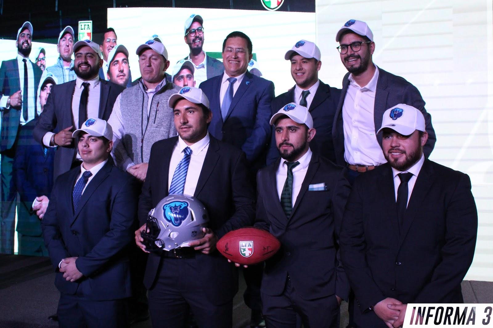 Jugadores seleccionados por Osos, Draft LFA 2019