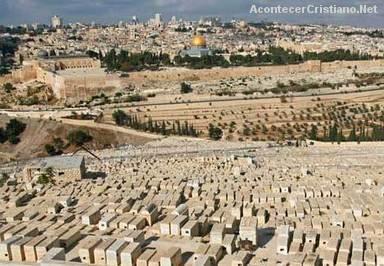 Cementerio en el Monte de los Olivos