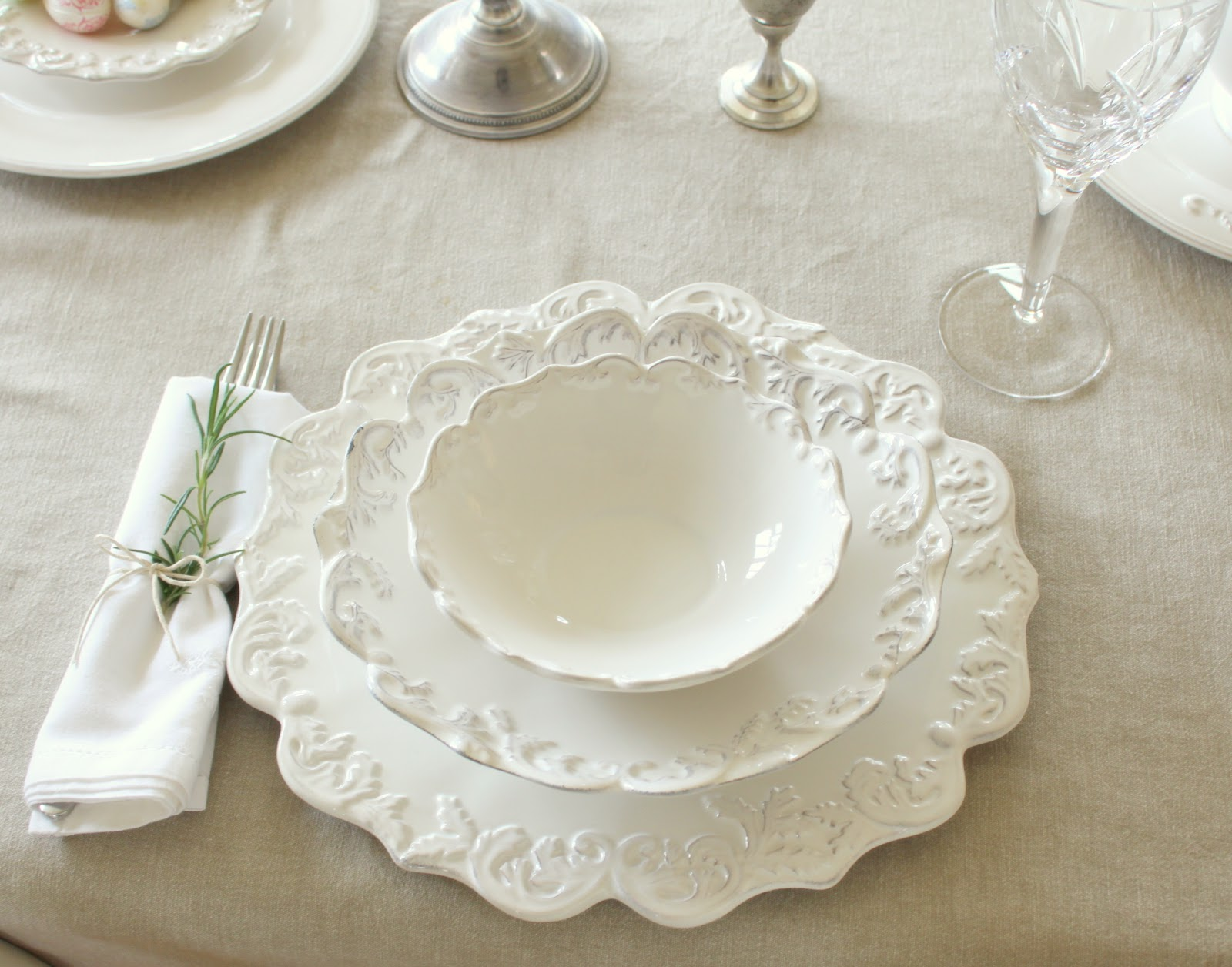 Gemma Moore Kitchen Design French Inspired Easter Table