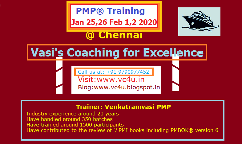Upcoming Training @ Chennai