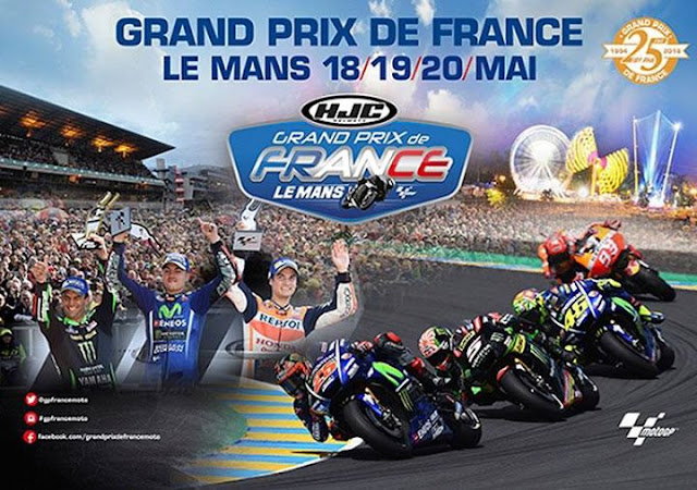 Jadwal MotoGP Prancis 2018 - Sirkuit Le Mans