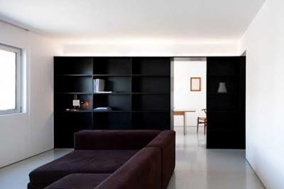 minimalist apartment interior design by hugo proenca 1