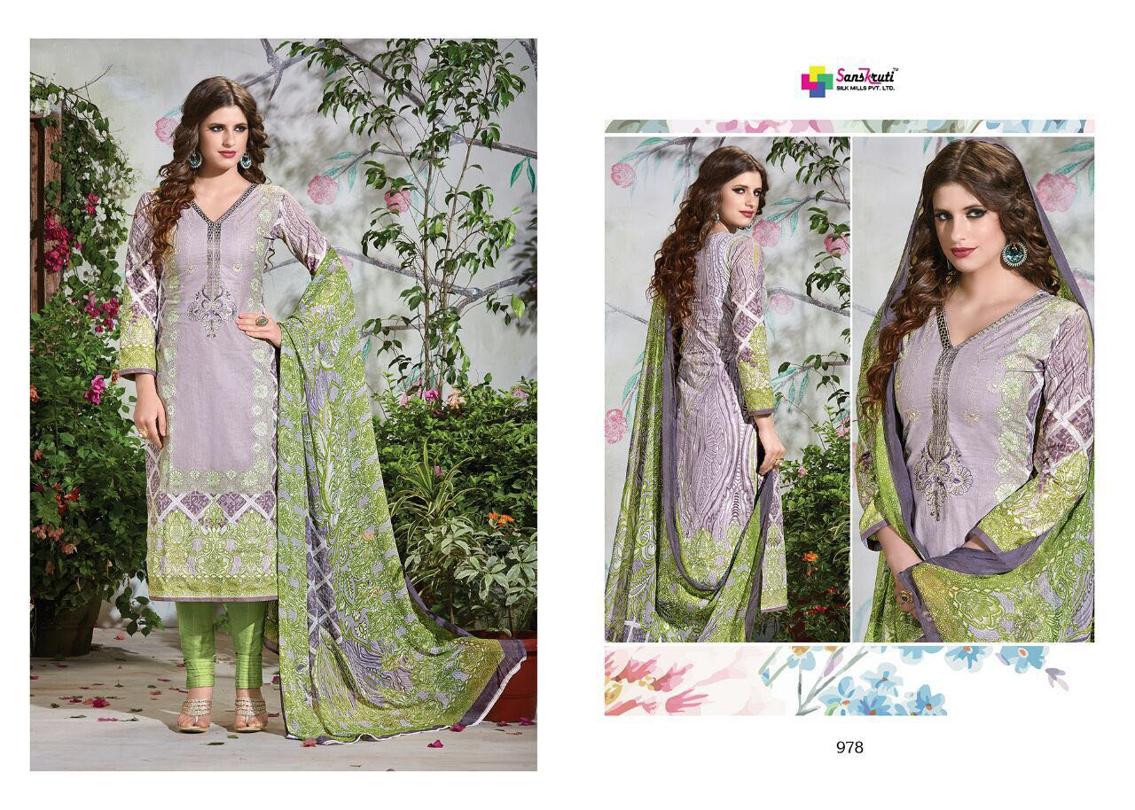 Farah – Pure Pakisthani Cotton Long Salwar Kameez Wholesale