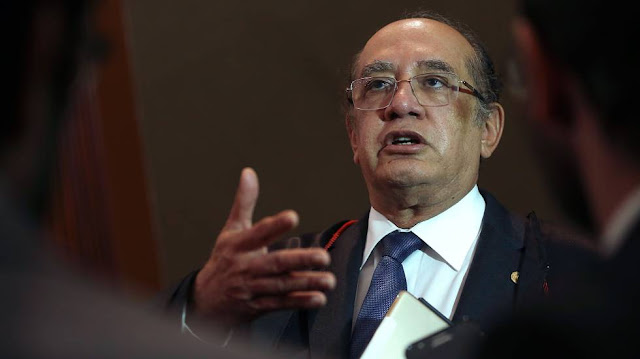 Gilmar Mendes recebeu o dono da JBS para um encontro em Brasília quando ele já negociava um acordo de delação com a Procuradoria da República.