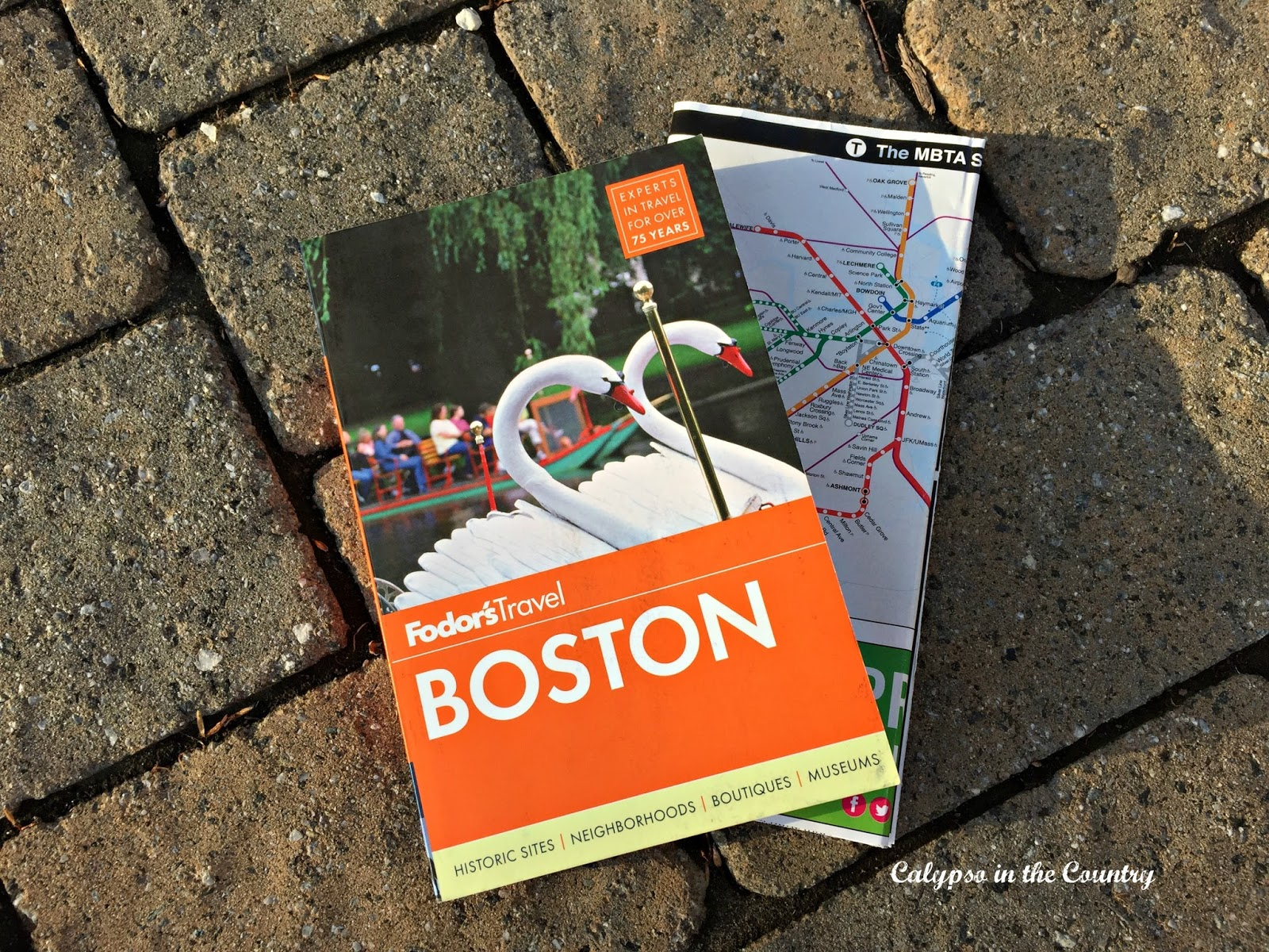 Fodors Boston Guidebook - Day One of our Family Trip