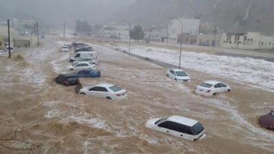 """⛔️ """"عواصف وأمطار غزيرة وسيول"""" الأرصاد تحذر من طقس الجمعة وتوجه 4 تحذيرات للمواطنين 👇👇"""