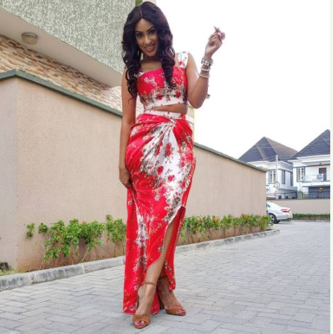Beautiful Actress, Juliet Ibrahim Step Out In Style With