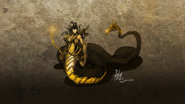 Concept Art Medusa by Putra Shining