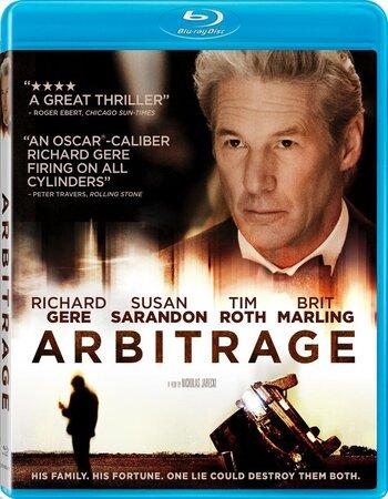 Arbitrage (2012) Dual Audio Hindi 480p BluRay x264 350MB ESubs Movie Download