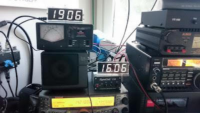 OH2DD DIY Radioamatööri hamsack kello paikallaan