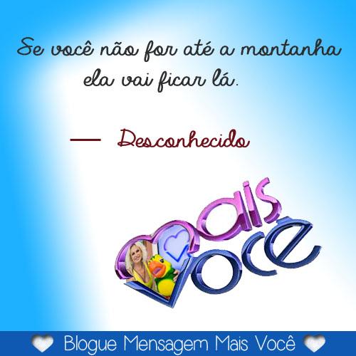 Mensagens Mais Você Mensagens Mais Voce Ana Maria Braga Tv Globo