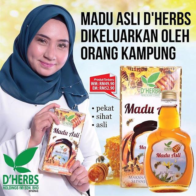 Madu Asli D'Herbs