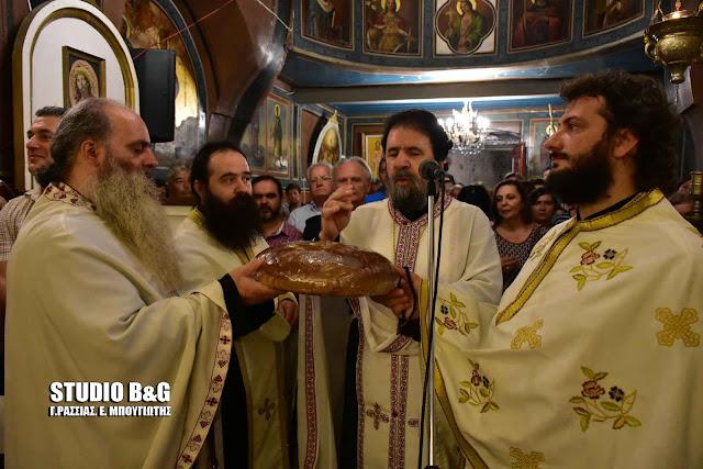 Ναύπλιο: Η γιορτή της Αγίας Σοφίας στο ιστορικό εκκλησάκι στον ψαρομαχαλά