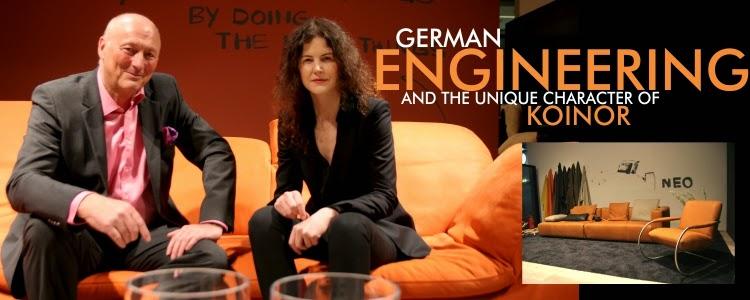 German Koinor sofas