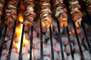aloha pork kebabs recipe