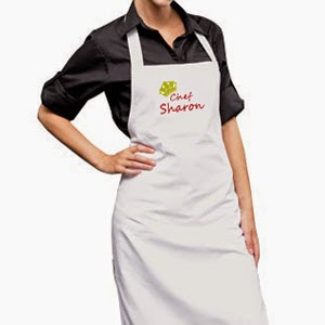 Personalized Apron @ $36.90 each. Embroidered with your name.