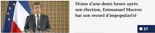 http://www.legorafi.fr/2017/05/07/moins-dune-demi-heure-apres-son-election-emmanuel-macron-bat-son-record-dimpopularite/
