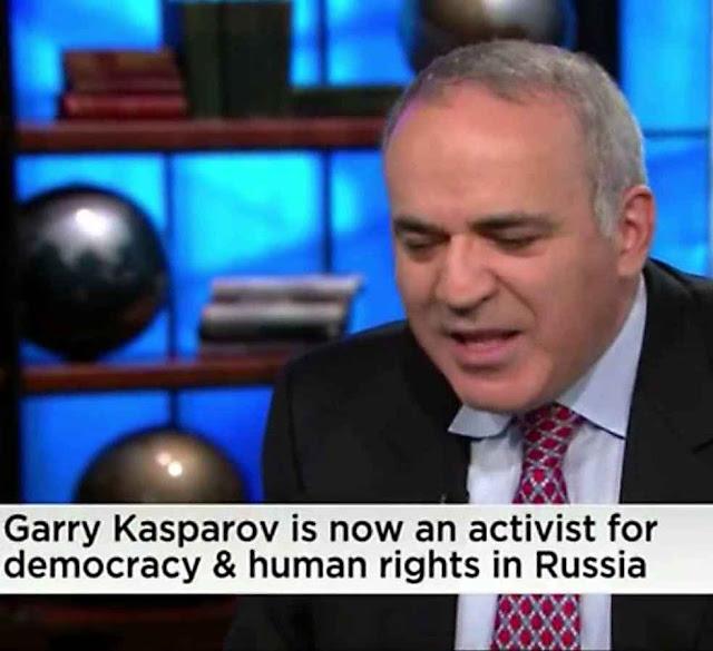 Garry Kasparov: Putin conseguiu assustadora influência