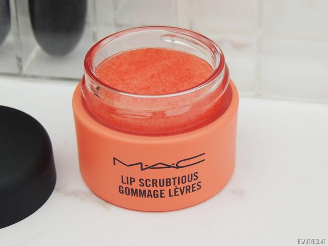 revue avis test mac lip scrubtious gommage exfoliant levres mangue