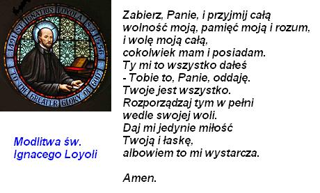 Święci i błogosławieni: Modlitwy św. Ignacego z Loyoli