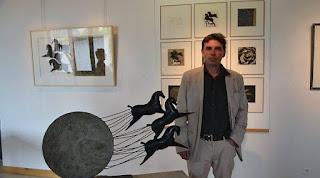L'ARTISTA BRETONE YANIK PEN'DU ESPONE A TAORMINA