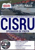 apostila concurso CISRU samu OPERADOR DE FROTA
