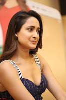 Pragya Jaiswal in Deep neck Gown at Launch of OPPO Phone 011.JPG