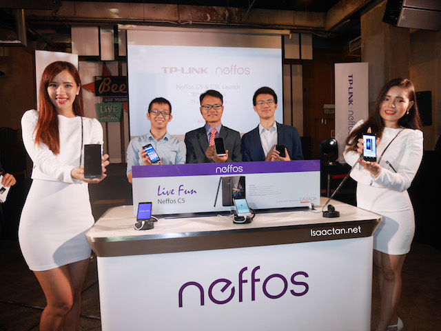 TP-LINK Neffos smartphones launched