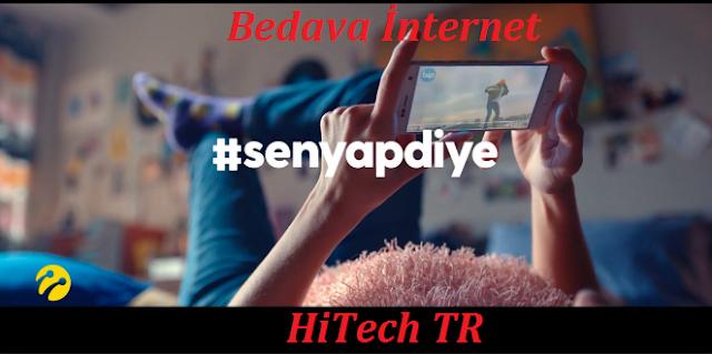 Türkcell Bedava İnternet, Türkcell, Bedava İnternet