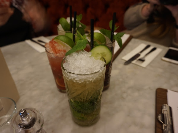 Dinner at The Liquorist