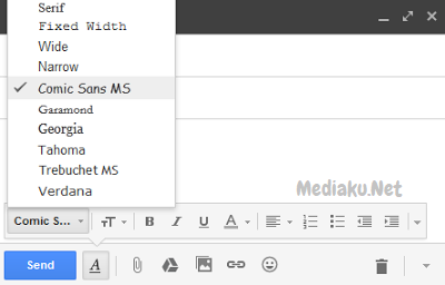Ubah Ukuran Font Dan Gaya Teks Di Gmail