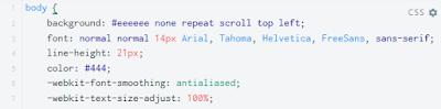 Cara Mudah Mengganti Font di Blog