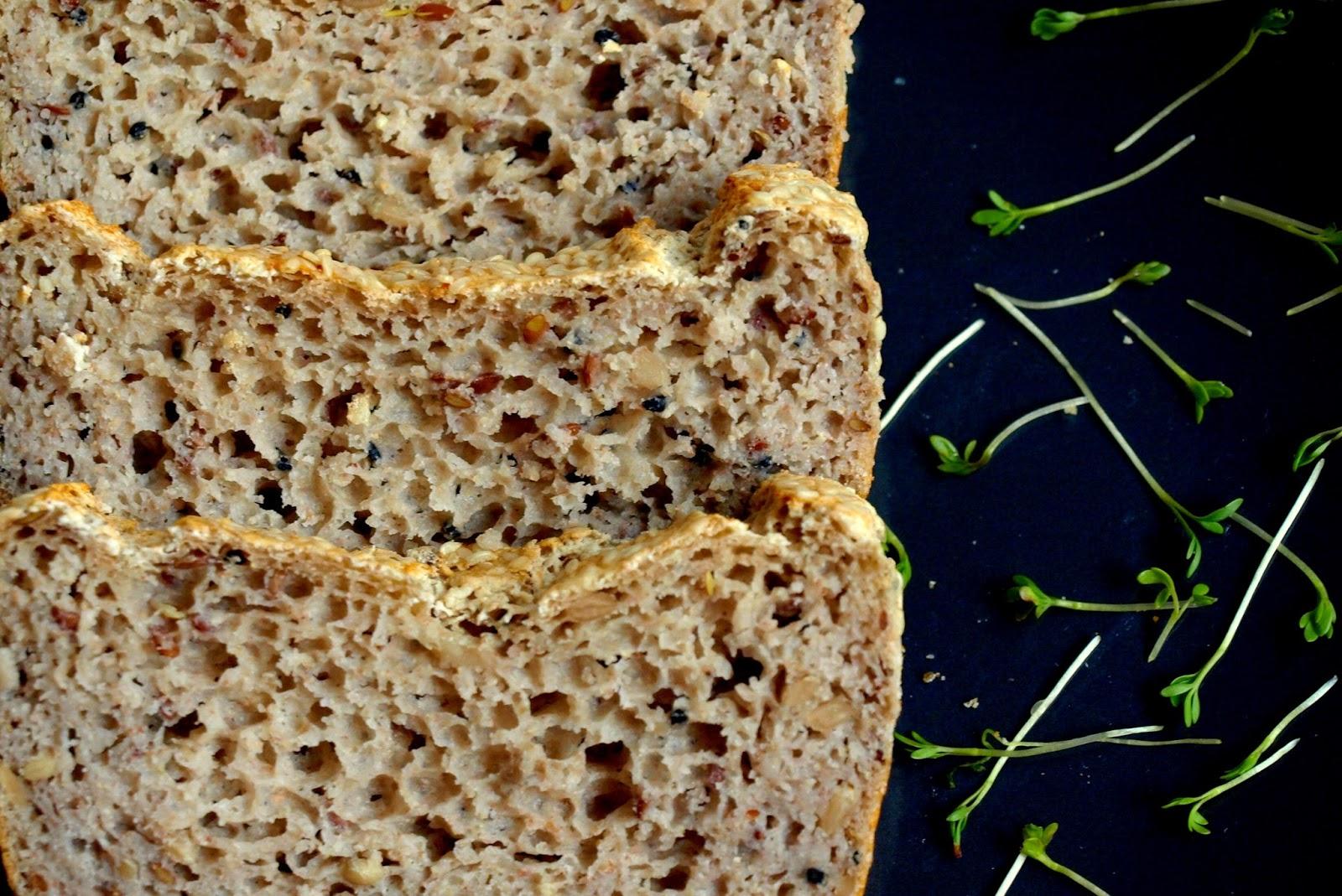 Chleb bezglutenowy dla leniwych