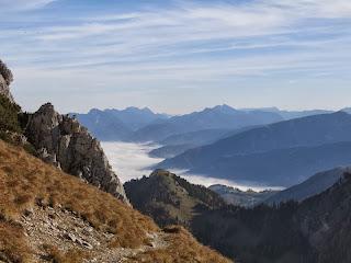 Wandern über dem Nebelmeer - immer wieder großartig
