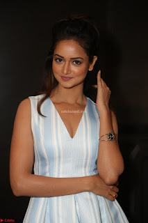 Shanvi Looks super cute in Small Mini Dress at IIFA Utsavam Awards press meet 27th March 2017 03.JPG
