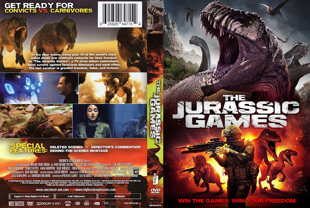 The Jurassic Games (scan) DVD Cover
