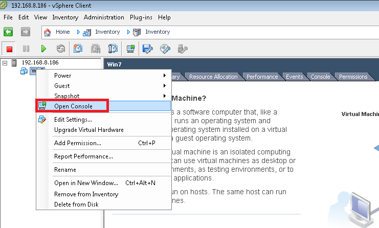 How to install Virtual Machine on VMware vSphere 5 1 Step by Step